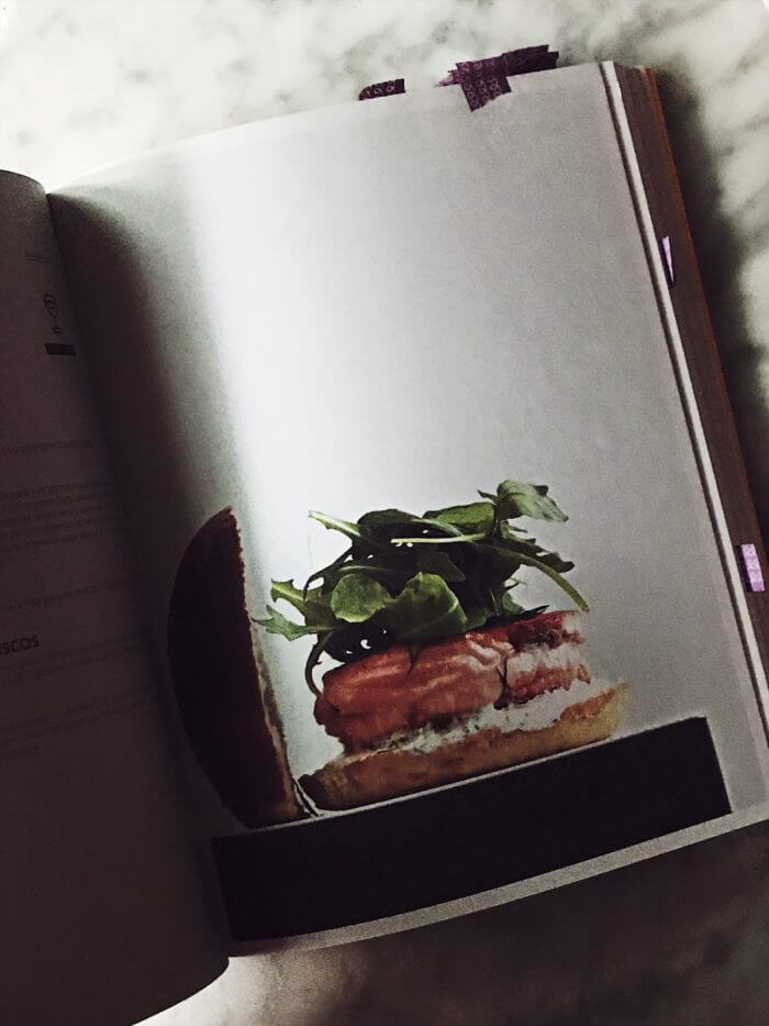 Hamburger Gourmet inside pages