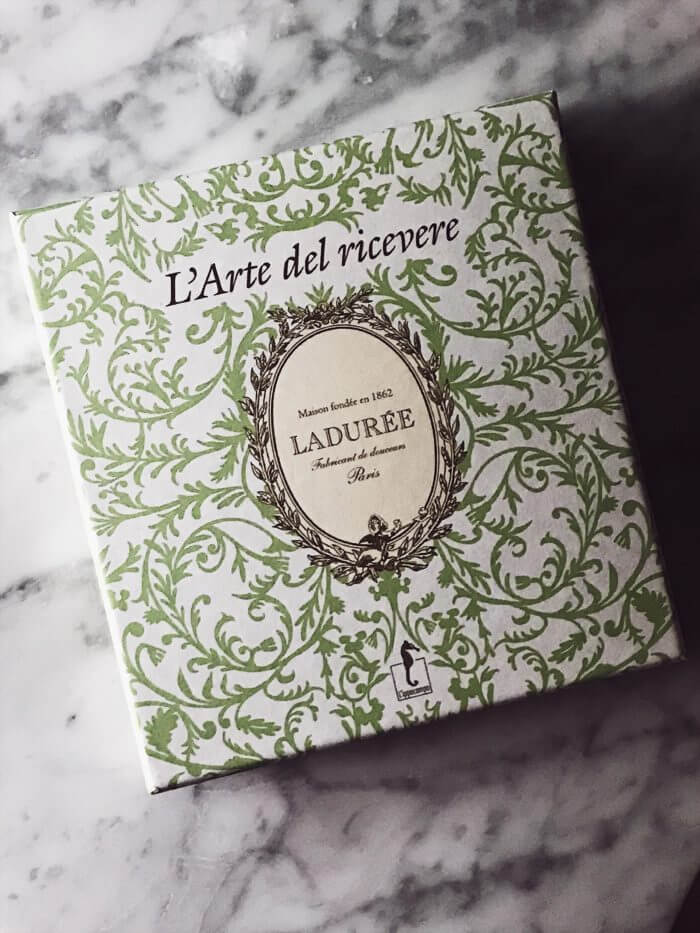 best cookbooks of all time Laduree #gourmetproject #christmasgifts