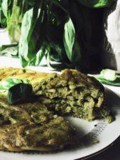 Pesto frittata pasta recipe with pesto alla genovese #gourmetproject #italianrecipes