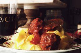 a very Italian sausage pasta recipe