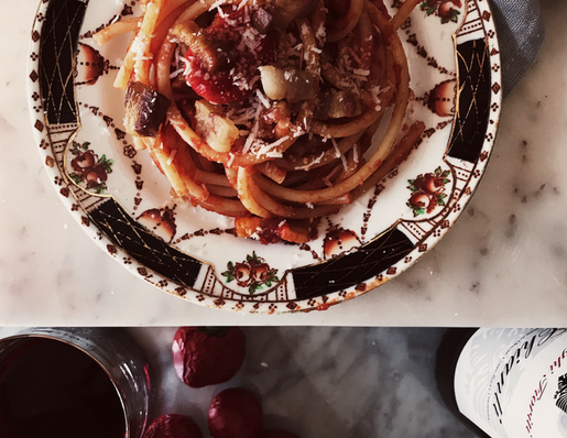 The authentic amatriciana sauce recipe | Gourmet Project