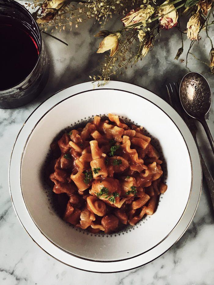 Pasta e fagioli recipe by Gourmet Project