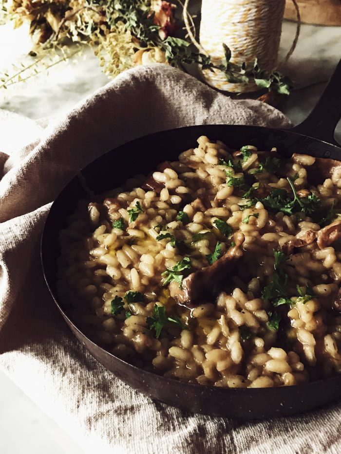 porcini mushroom risotto by Gourmet Project