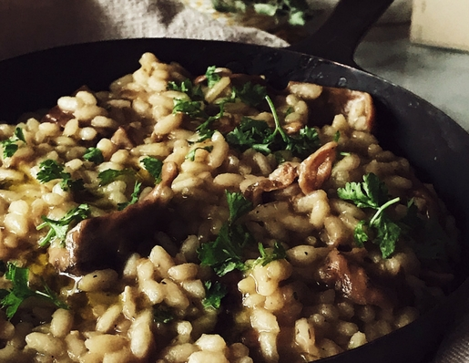 dried porcini risotto recipe