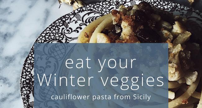 cauliflower pasta