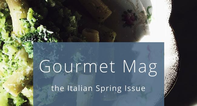 Gourmet Mag Italian food magazine