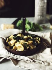 orecchiette with broccoli rabe