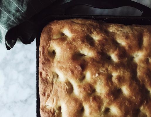 Genovese focaccia recipe