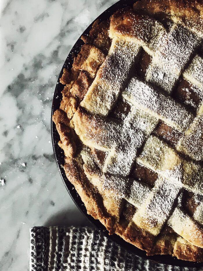 Sicilian baked ricotta cheesecake recipe