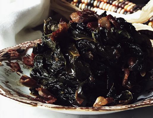 A Tuscan kale recipe: cavolo nero stufato