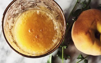 Italian peach bellini recipe