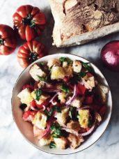 Italian panzanella salad recipe #gourmetproject