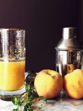 bellini recipe made with prosecco and real peaches