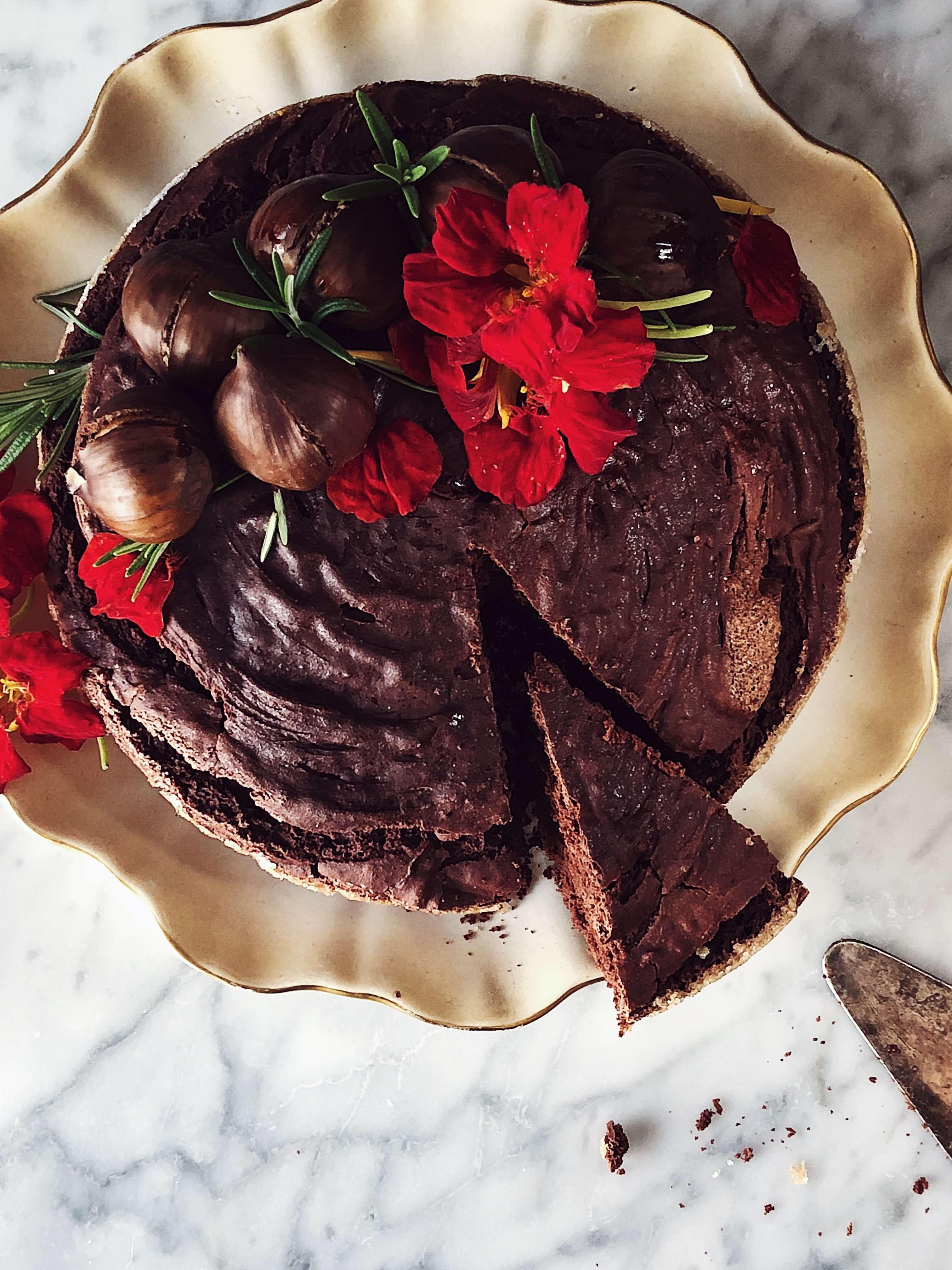 Italian cuisine magazine: chestnut cake #thegourmetmag #italy