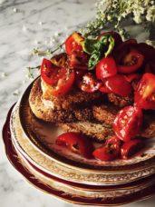 Authentic Italian bruschetta al pomodoro recipe #gourmetproject #italy