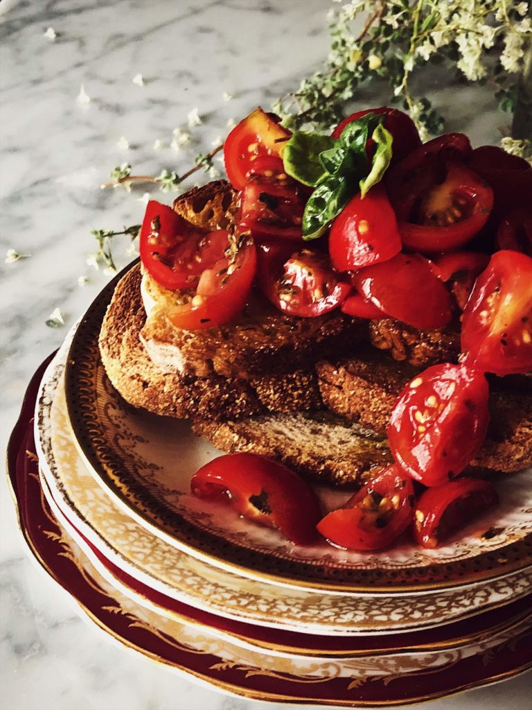 tomato bruschetta recipe #gourmetproject #italy