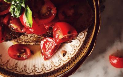 authentic Italian tomato bruschetta recipe