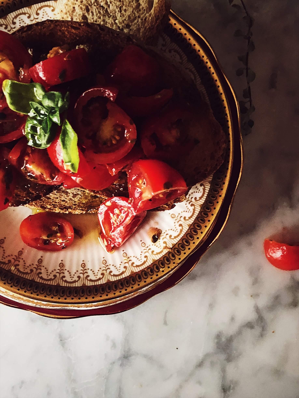 bruschetta bread recipe #gourmetproject #italianrecipes