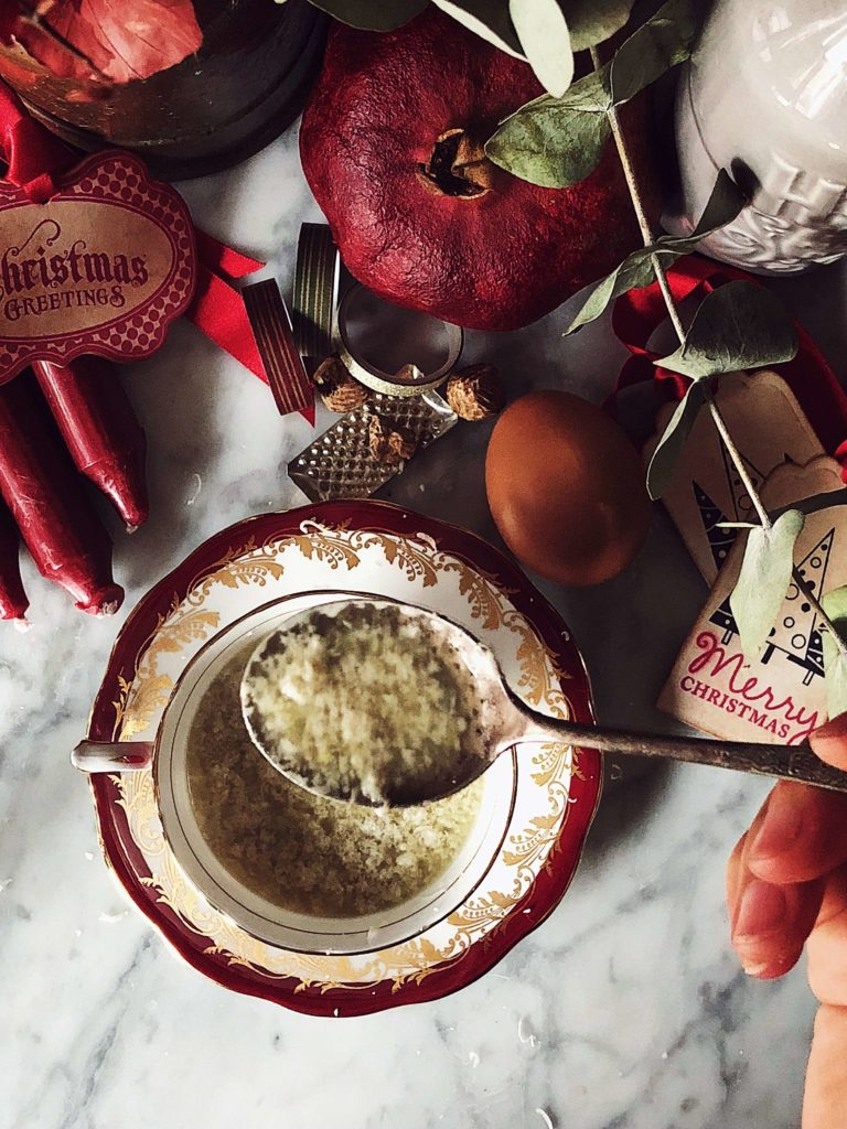 Stracciatella soup recipe from Rome #gourmetproject #christmasrecipes