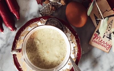 stracciatella soup recipe for Roman Christmas celebrations