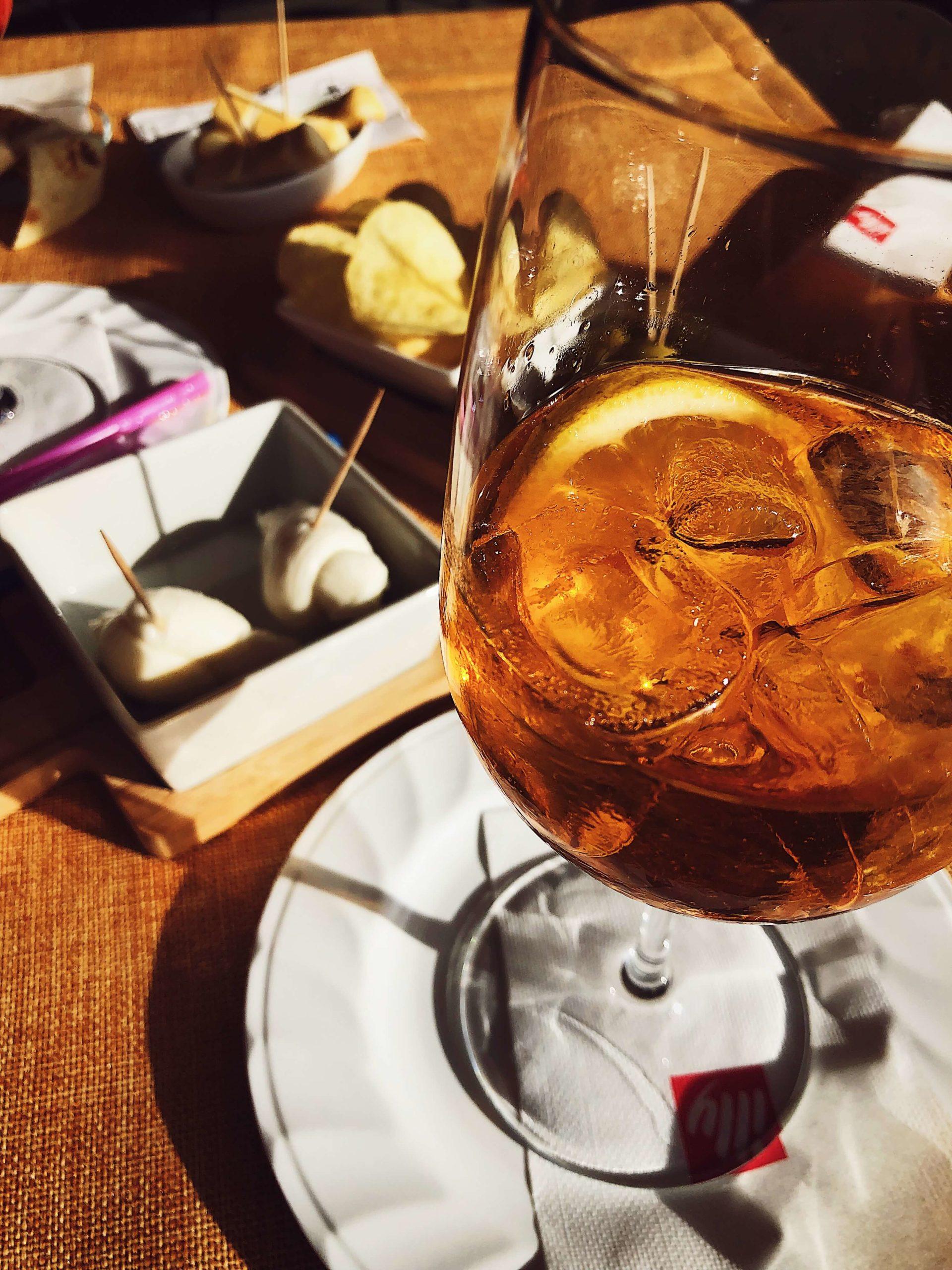 Christmas Eve Spritz aperitivo