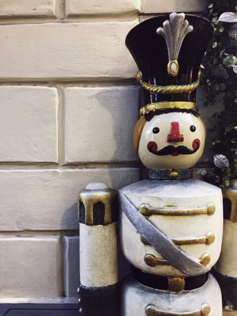 Christmas in Italy nutcracker shop decoration