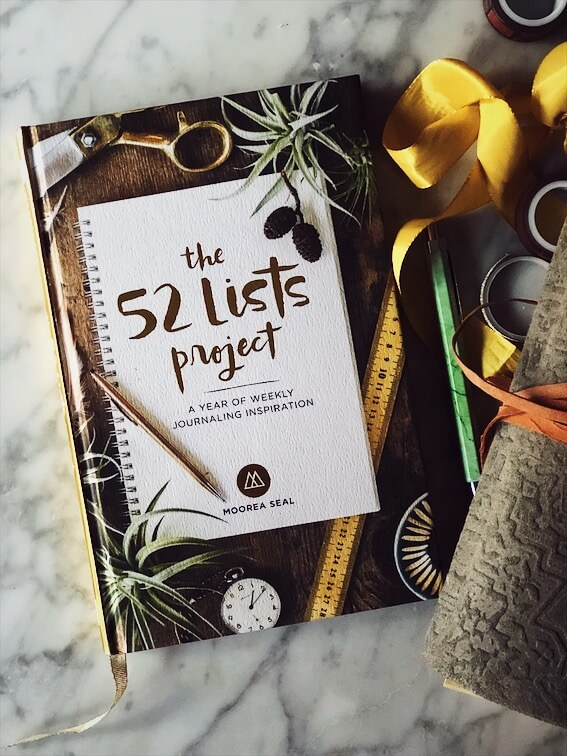 The 52 lists project book cover