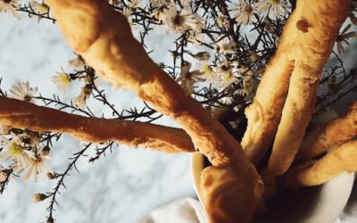 breadsticks recipe: grissini from Turin