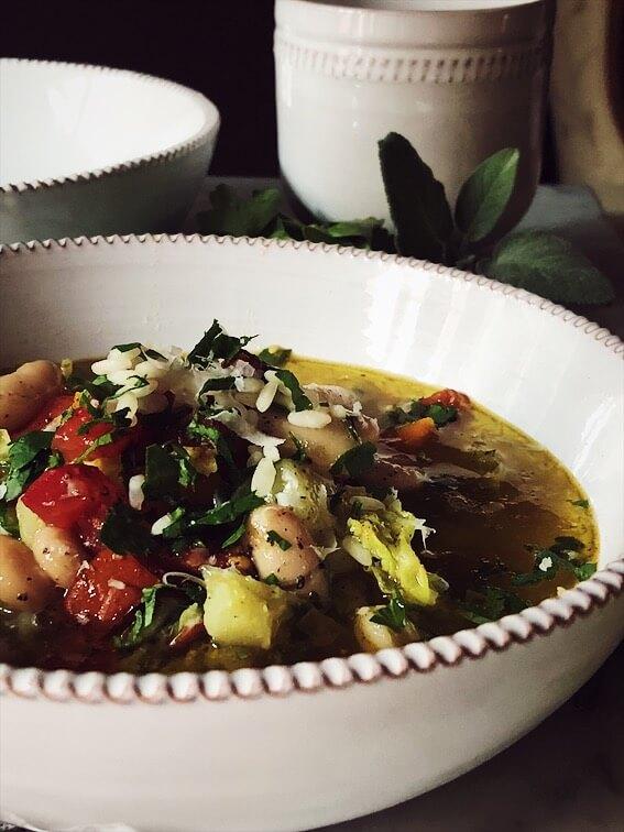 authentic italian minestrone soup recipe