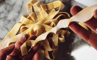tagliatelle pasta homemade