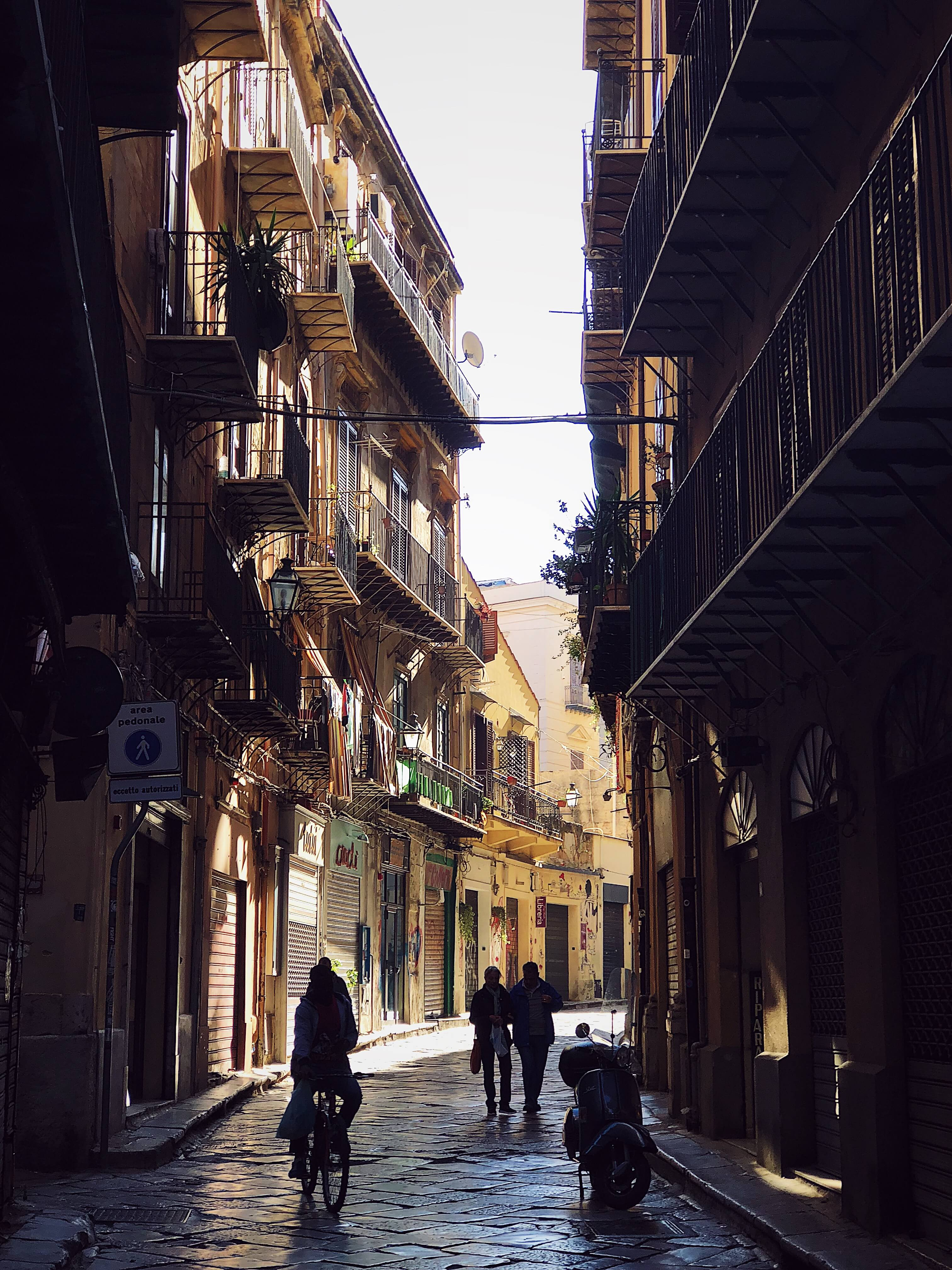 streets of Palermo photography