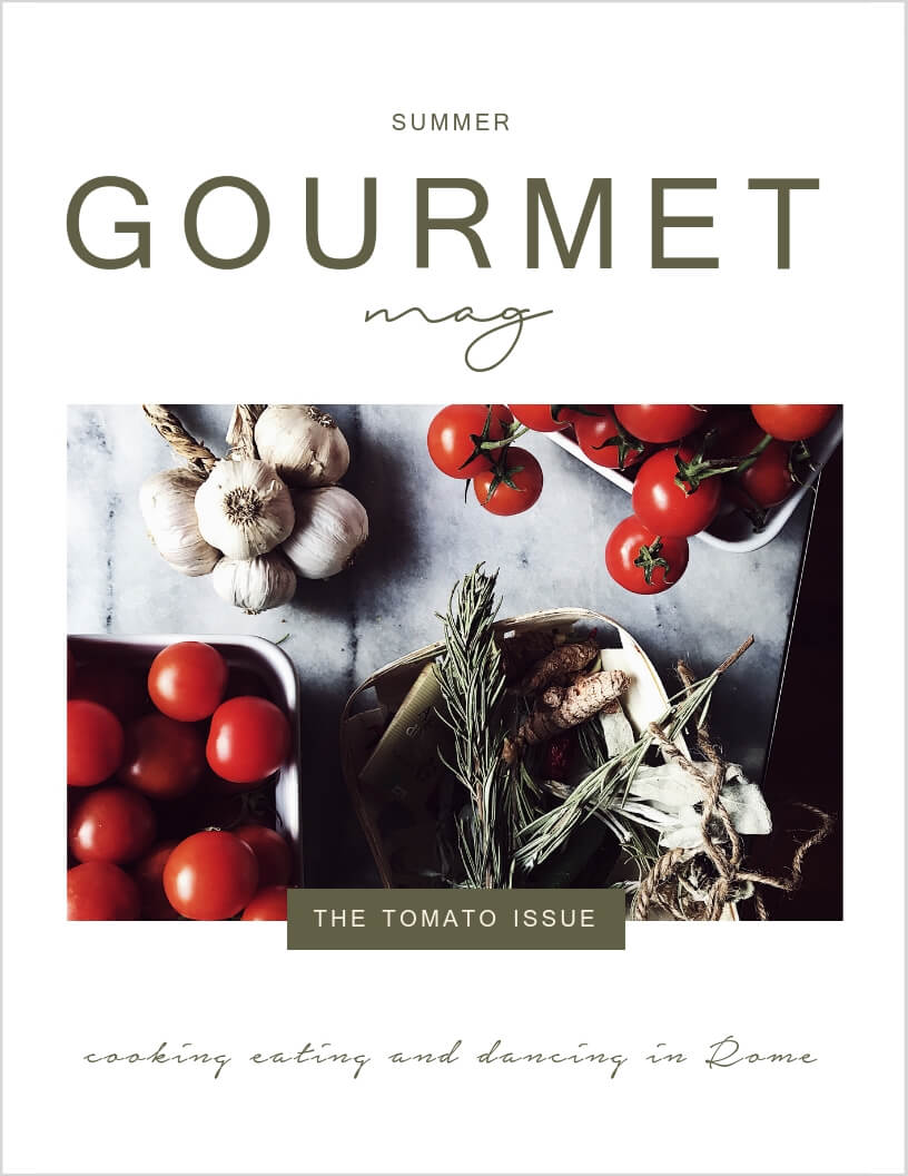 gourmet mag tomato issue summer