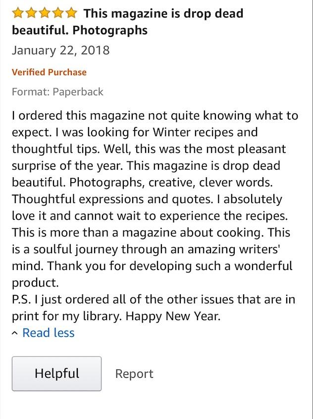 Italian magazine review 3
