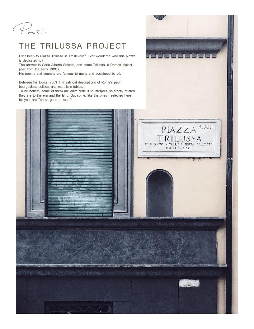 Rome: piazza Tiilussa
