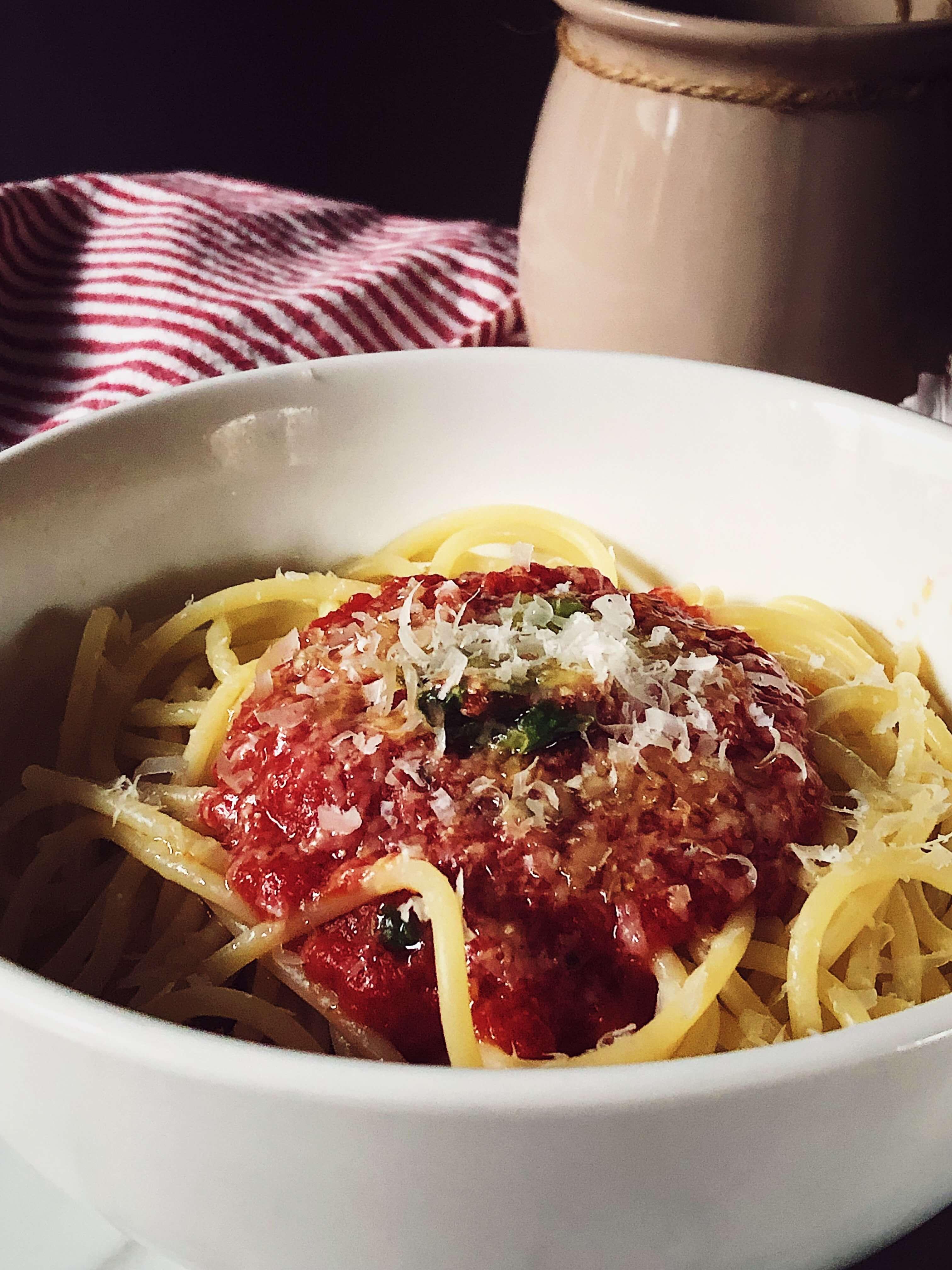 tomato sauce recipe for pasta #gourmetproject