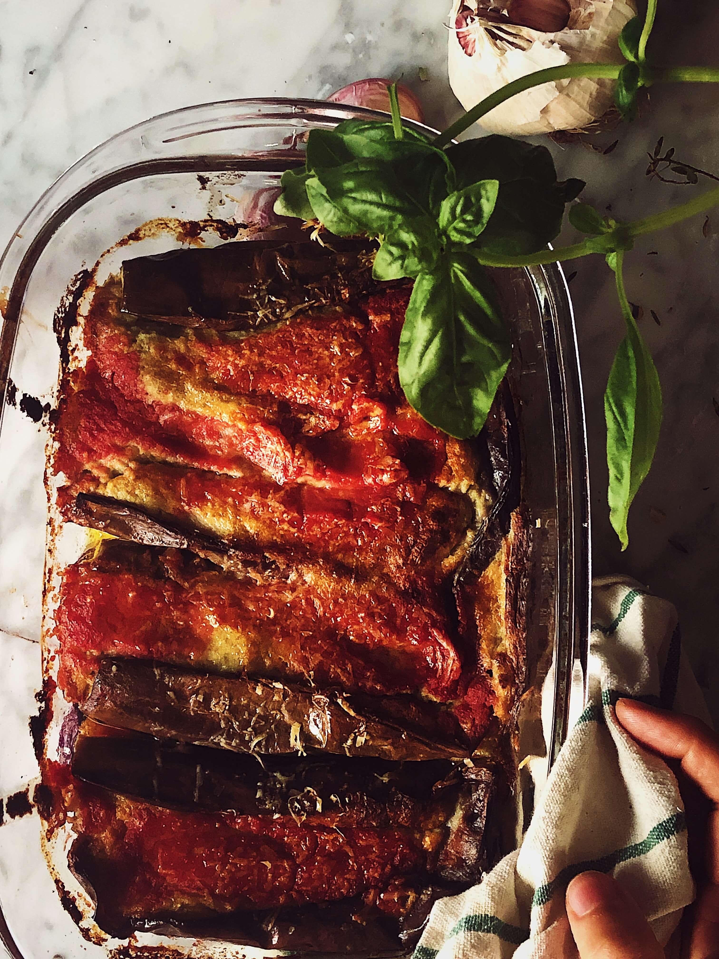 Stuffed eggplant recipe with ham #gourmetproject