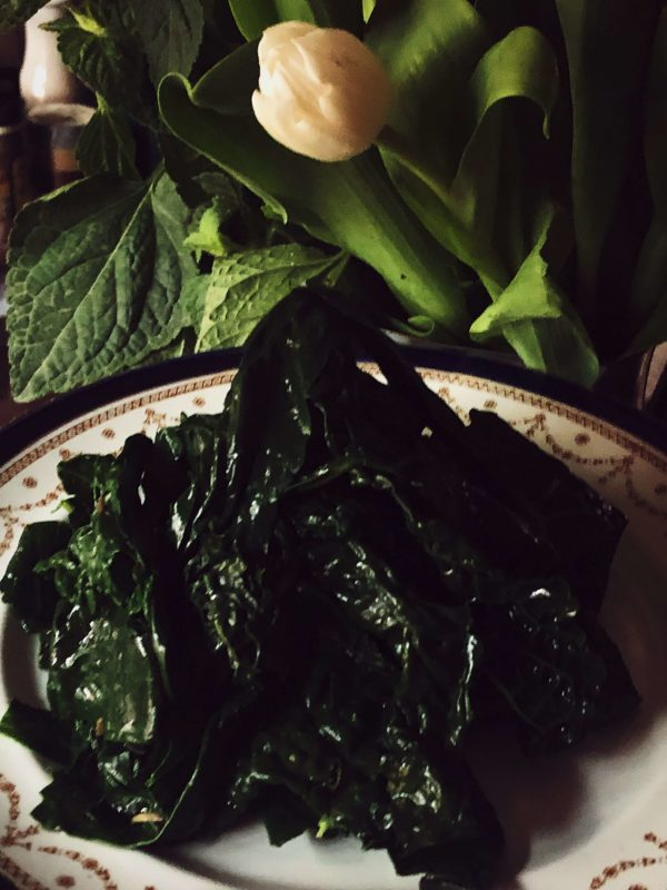 how to cook kale on the stove