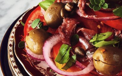 tomato salad from Sicily
