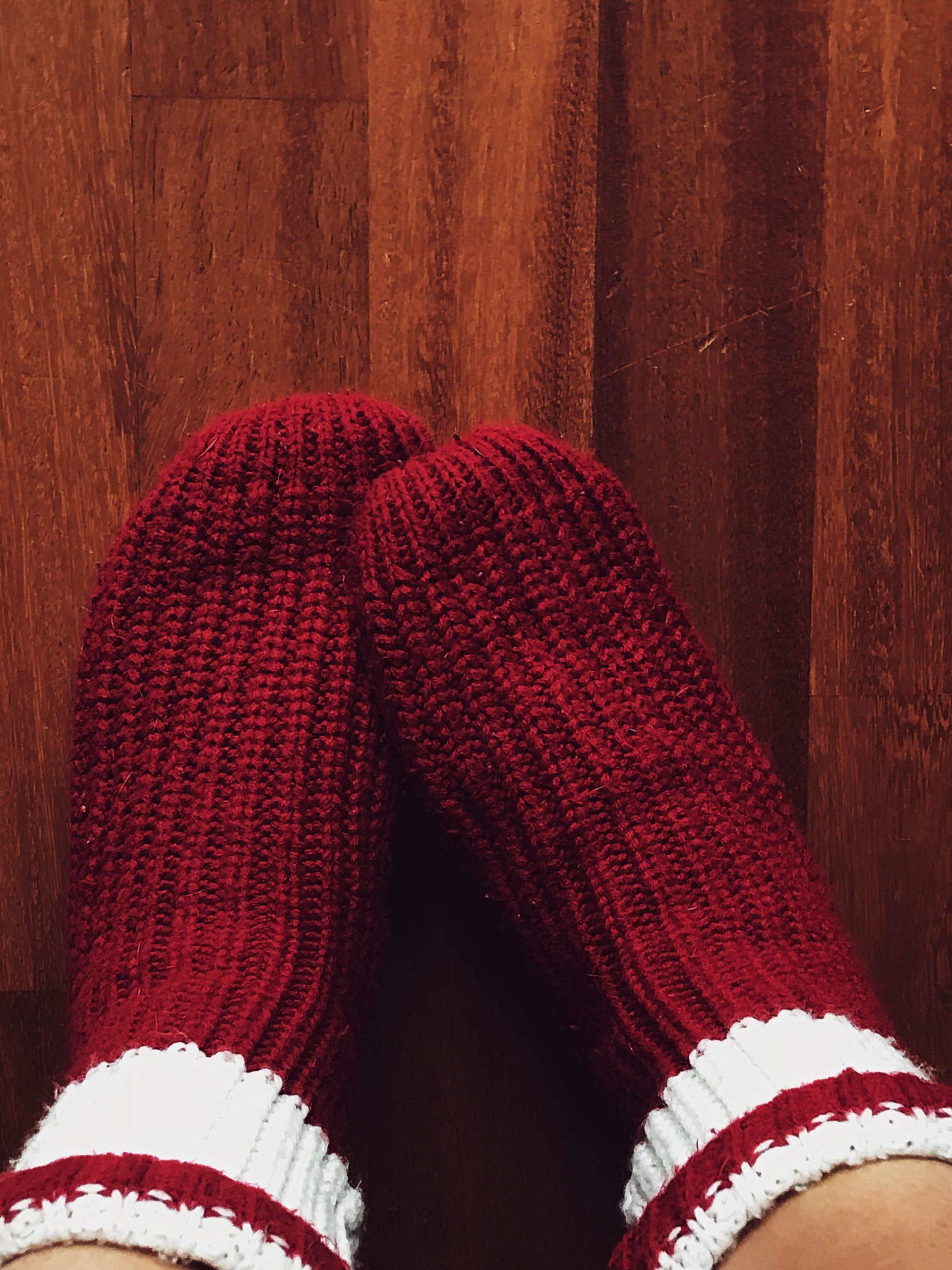 Christmas Day socks