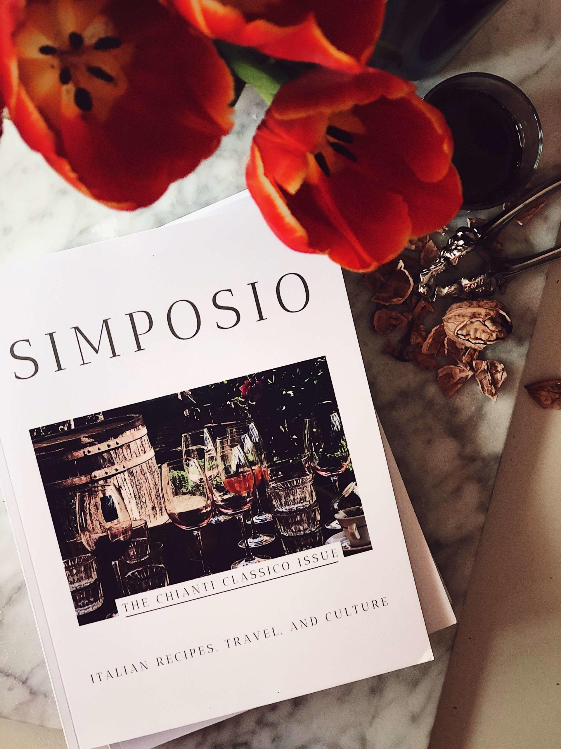 Chianti slow travel guide: The Simposio magazine issue of Chianti