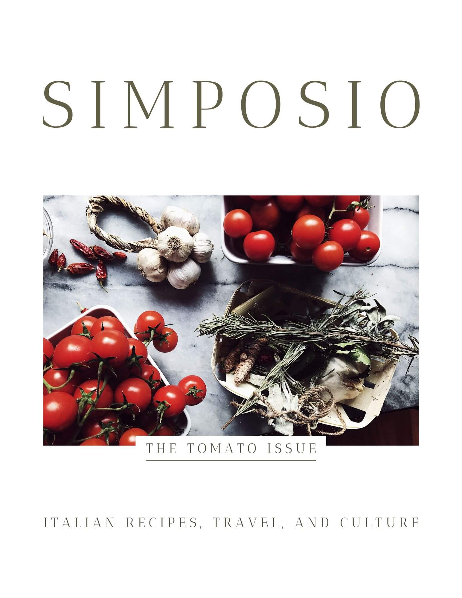 the Tomato Red issue cover of Simposio