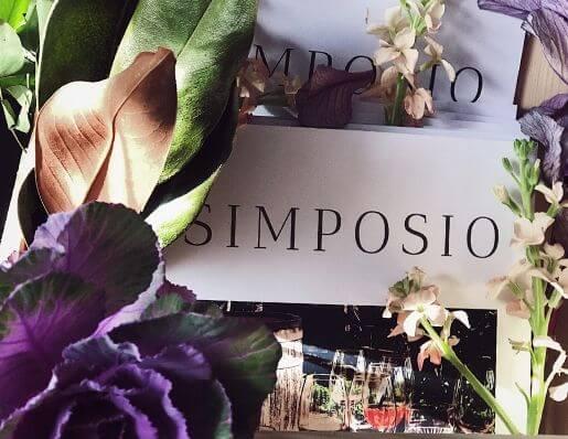 the Capri issue cover of Simposio