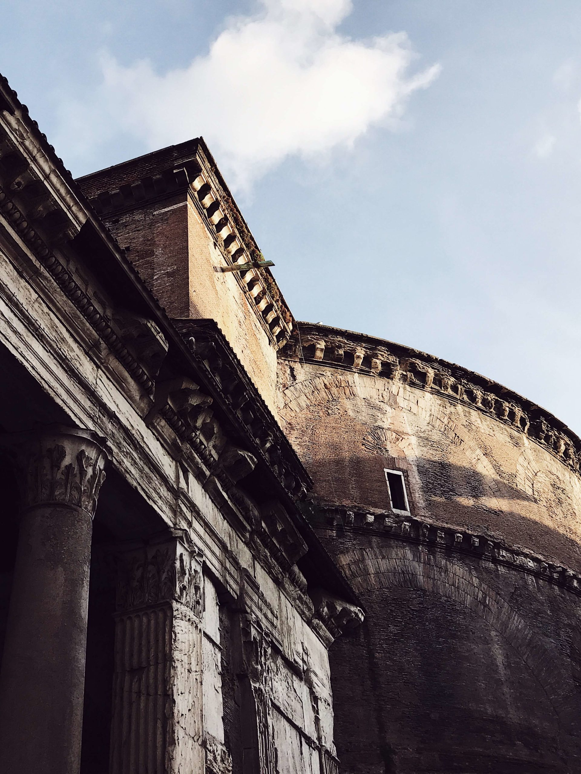 Rome in pictures: the pantheon's dome