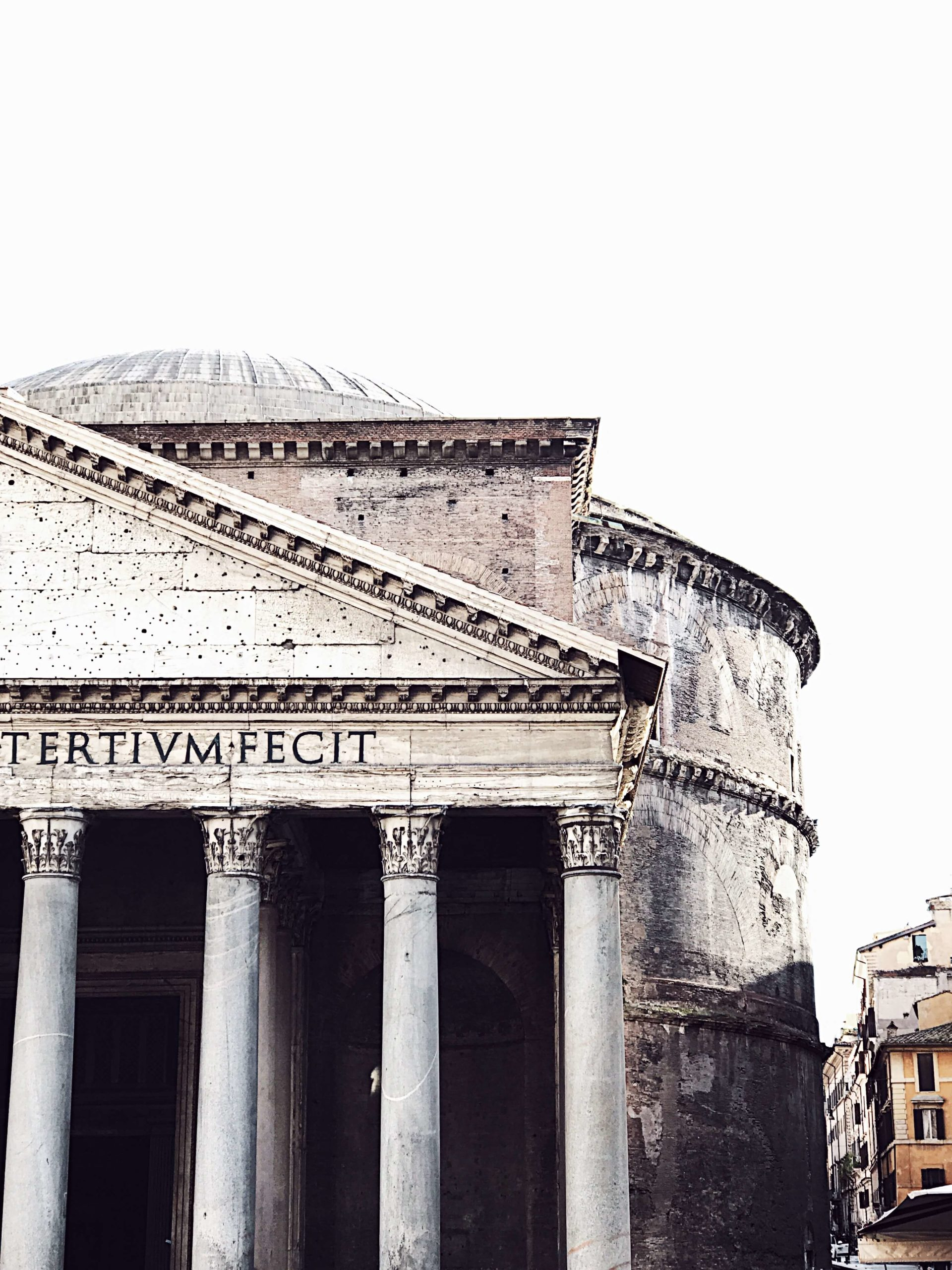 Rome in pictures: the pantheon