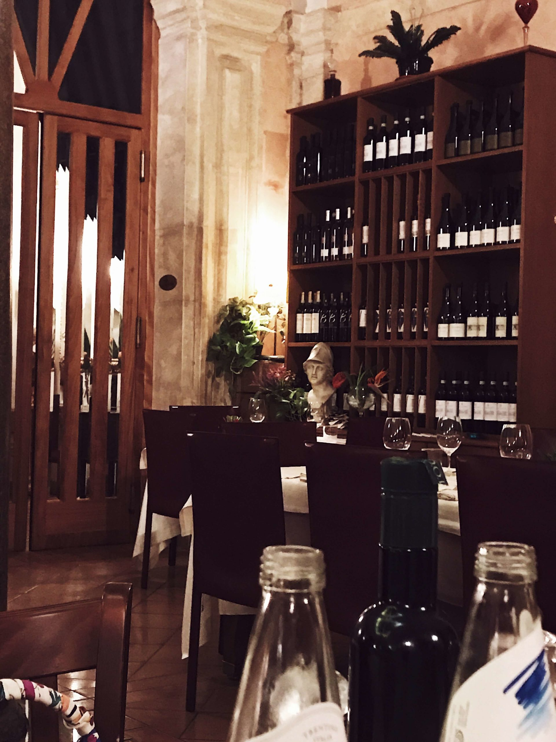 Rome in pictures: a restaurant in rome