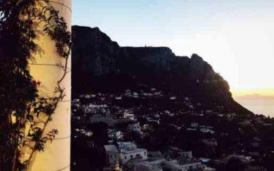 Italy armchair travel: the island of Capri