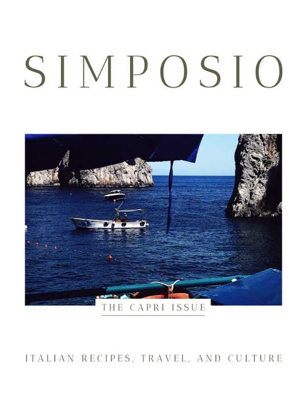 cover of the Simposio Alba & Langhe issue