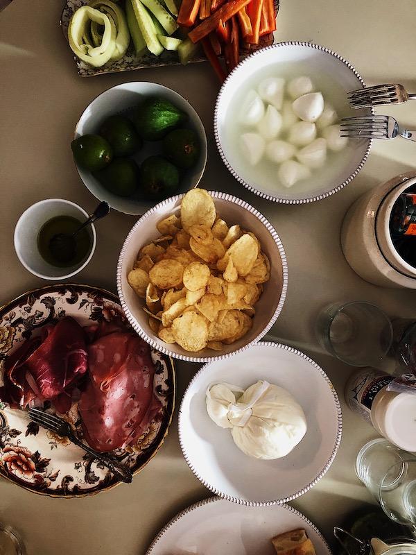 life in Italy: aperitivo party