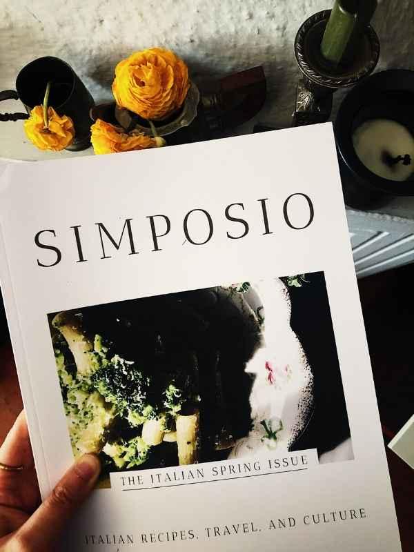 Italian magazine: egg recipes