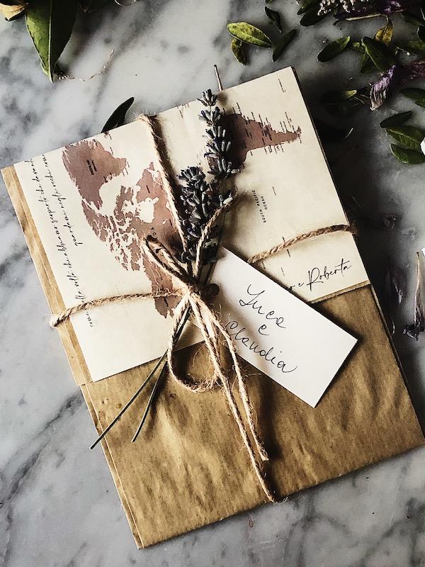 life in Italy: wedding invitation